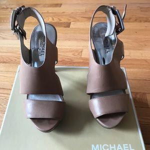 MICHAEL Michael Kors platform sandals size 8